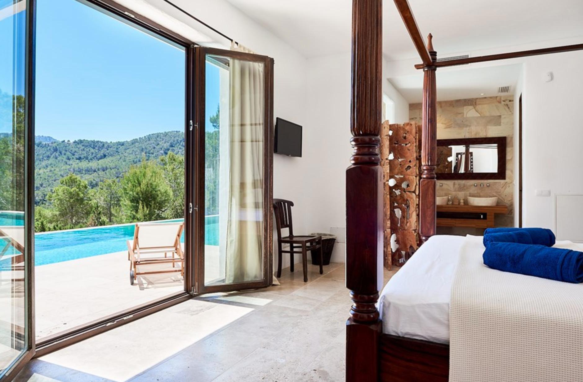Ayurveda Retreat Ibiza Zimmer Ansicht
