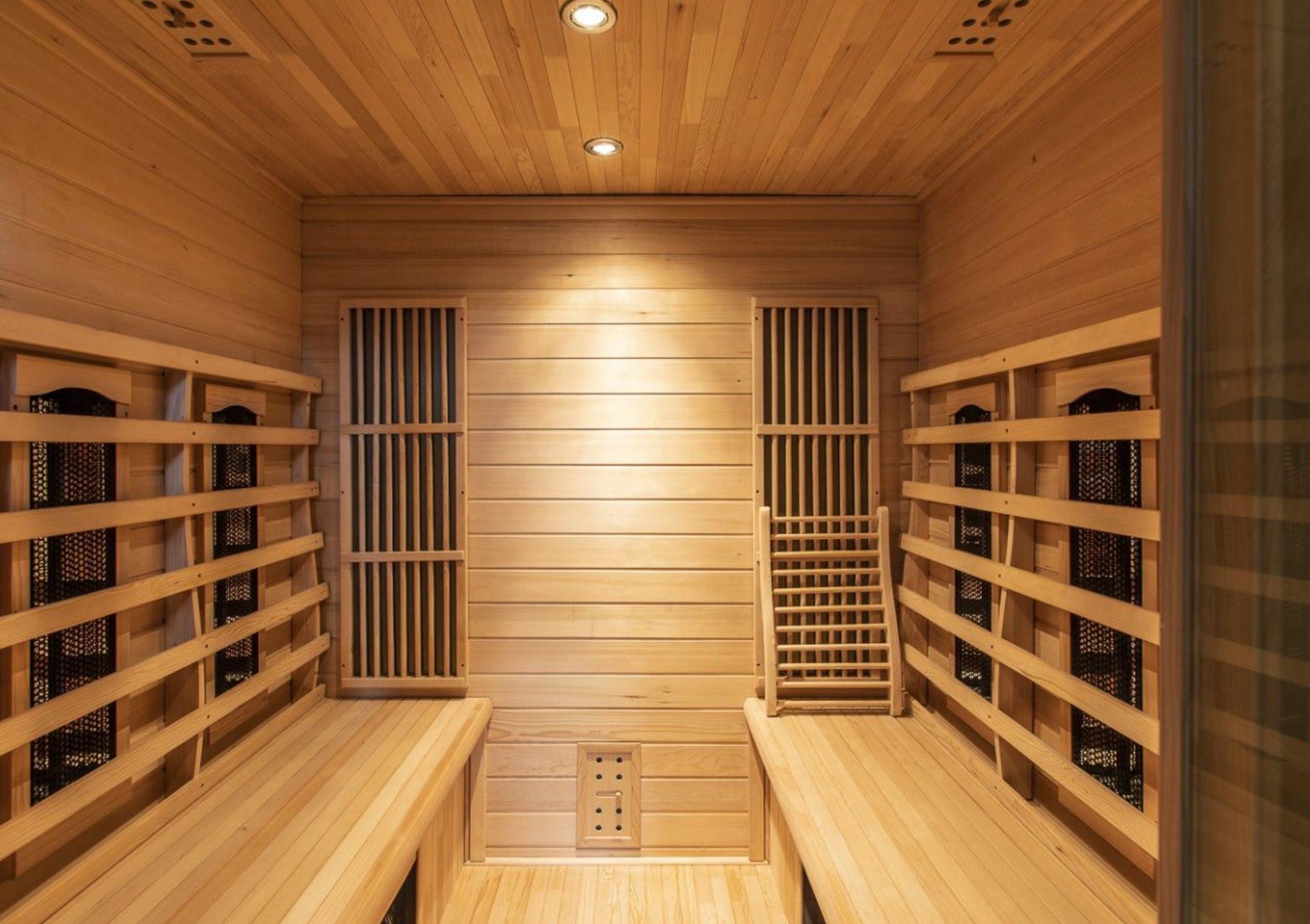 Recharge Retreat Belgien Haus Sauna