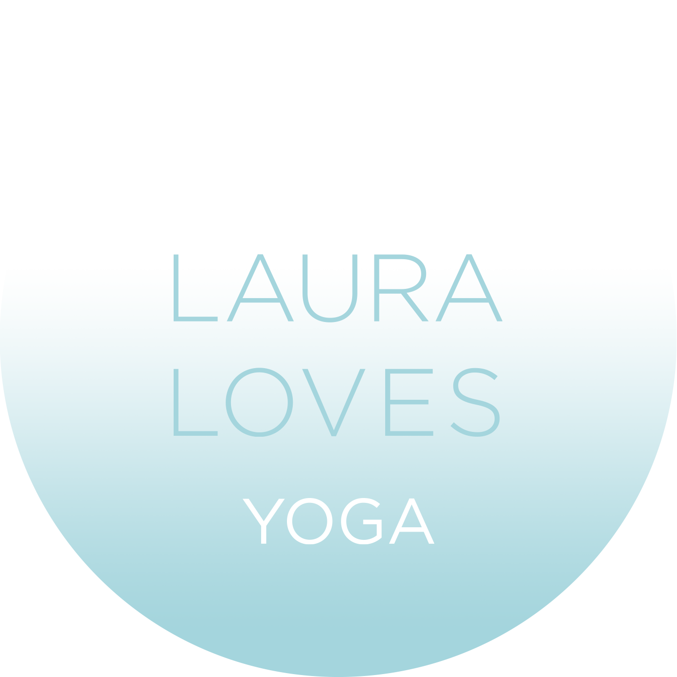 Logo Laura Loves Yoga